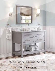 Cover of the Vanities Catalog by Hardware Resources.