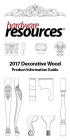 Cover of the Wood Product Information Guide by Hardware Resources.