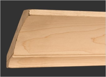 Double Cove Crown Moulding