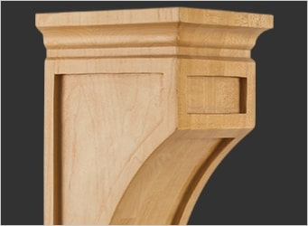 Mission Style Corbels